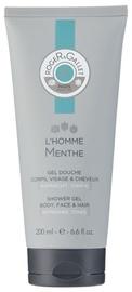 Гель для душа Roger & Gallet L'Homme Menthe Shower Gel 200ml