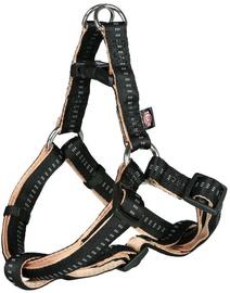 Trixie Softline Elegance One Touch Harness XS/S Black/Beige