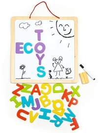 EcoToys Wooden Educational Board 3in1