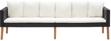 Садовый диван VLX 3-Seater Garden Sofa With Cushion 310214, кремовый