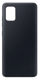 Evelatus Soft Touch Back Case For Samsung Galaxy A41 Black