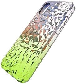 Mocco Trendy Diamonds Back Case For Samsung Galaxy J6 Plus Green