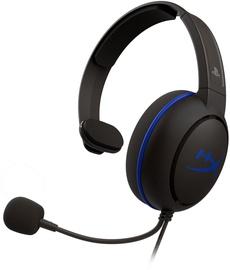 Austiņas Kingston HyperX Cloud Chat PS4 Black/Blue