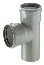 Kanalizācijas caurules trejgabals Magnaplast HTplus D75mm, 90°, PP