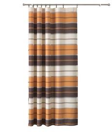 Wisan Night Curtains Brown/Beige 160x250cm