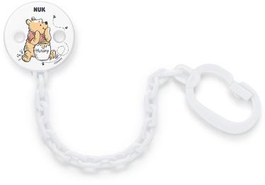 Держатель для соски Nuk Soother Chain, белый