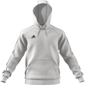 Adidas Mens Core 18 Hoodie FS1895 White XL
