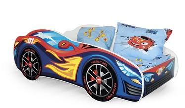 Bērnu gulta Halmar Speed, daudzkrāsains, 151x75 cm