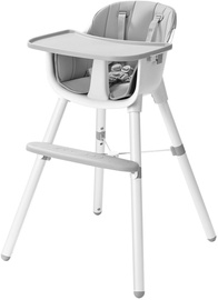 EcoToys Feeding 2in1 Chair Grey/White