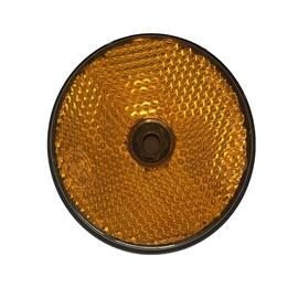 Atstarotājs Autoserio Reflector Round Yellow AFK0180 2pcs