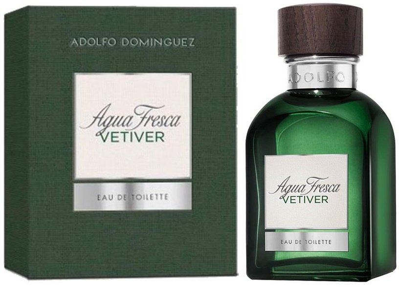 Smaržas Adolfo Dominguez Agua Fresca Vetiver 60ml EDT