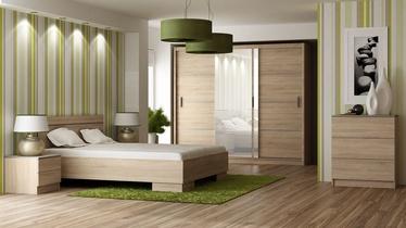 Guļamistabas mēbeļu komplekts Stolar Vista Sonoma Oak