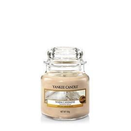 Ароматическая свеча Yankee Candle Small Jar Candle Warm Cashmere, 104 г