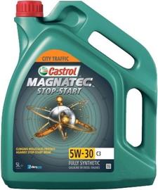 Машинное масло Castrol Magnatec Stop Start 5W - 30, синтетический, для легкового автомобиля, 5 л