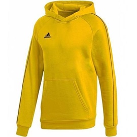 Adidas Core 18 Hoodie Youth FS1892 Yellow 152cm