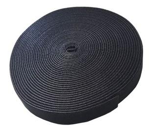 Savio Cable Strap 10mx20mm Black
