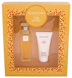 Sieviešu smaržu komplekts Elizabeth Arden 5th Avenue 30 ml EDP + 50 ml Body Lotion