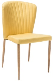 Ēdamistabas krēsls Signal Meble Polly Polly Gold, 1 gab.