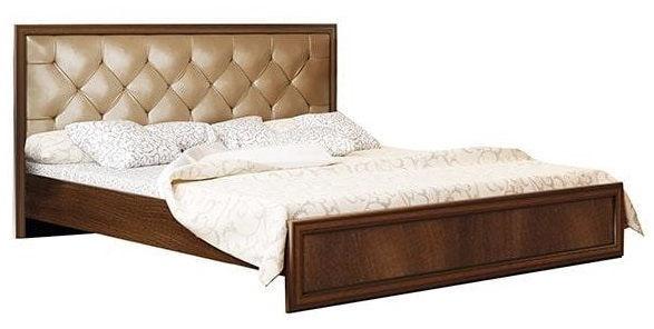 Olmeko Gabriella 06.02-03 Bed Cagliari/Cognac Oak