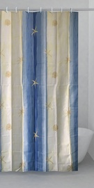 Gedy Oltremare Shower Curtains 200x240cm Multicolor