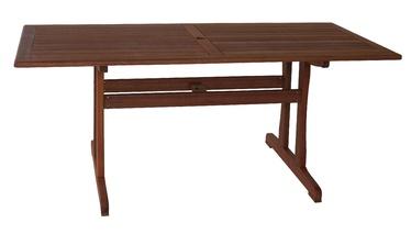 Dārza galds Home4you Venice Meranti, 180 x 90 x 74 cm