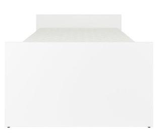 Gulta Black Red White Nepo 90A White, 90 x 200 cm