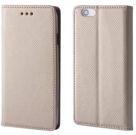 TakeMe Smart Magnetic Fix Book Case For Xiaomi Mi A2 Lite Gold