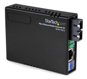 Optiskais pārveidotājs StarTech MCM110SC2EU, 100 Mb/s