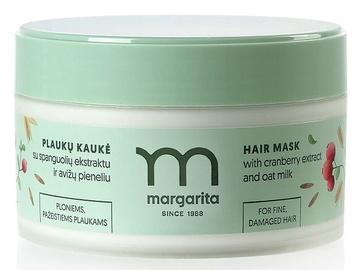 MARGARITA Hair Mask для тонких, поврежденных волос с экстрактом клюквы и овсяным молочком 250ml