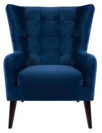 Atzveltnes krēsls Black Red White Casey Es Dark Blue, 94x86x107 cm
