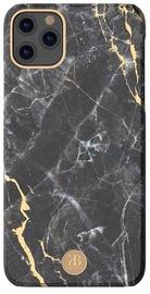 Kingxbar Marble Series Back Case For Apple iPhone 11 Pro Black
