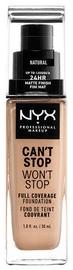 Tonizējošais krēms NYX Can't Stop Won't Stop CSWSF07 Natural, 30 ml
