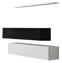 ASM Switch SB II Hanging Cabinet/Shelf Set White/Black
