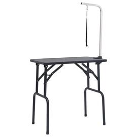 Аксессуары для дрессировки животных VLX Dog Grooming Table, серебристый/черный