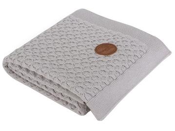 Ceba Baby Knitted Cotton Blanket 90x90cm Grey