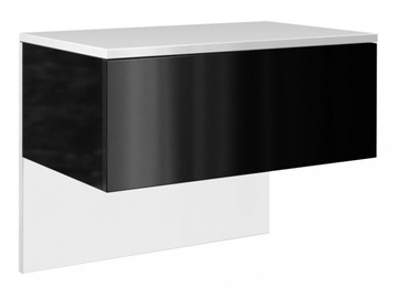 Naktsgaldiņš Top E Shop Lili White Mat/Black Gloss
