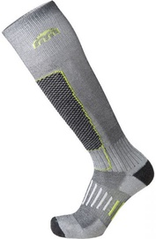 Mico Basic Ski Sock IN PP Grey/Green 35-37