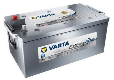 Akumulators Varta ProMotive AGM Silver A1, 12 V, 210 Ah, 1200 A