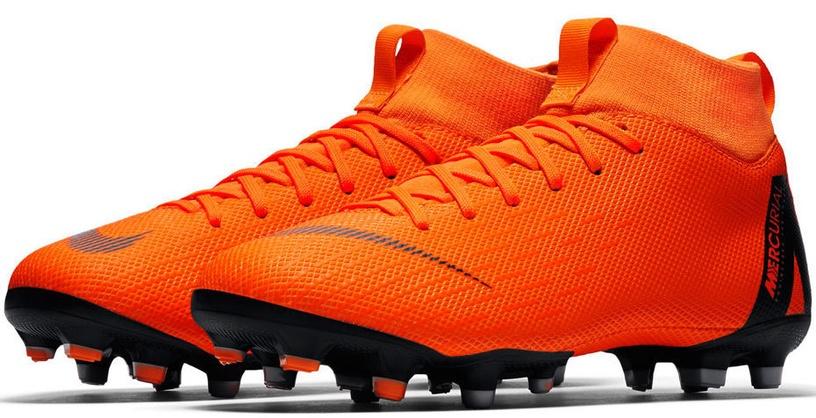 Nike Mercurial Superfly 6 Academy MG JR AH7337 810 Orange 36.5