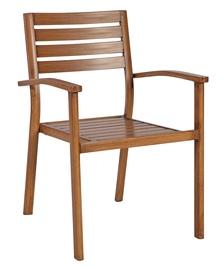Home4you Sailor Garden Chair 61.5x57x85cm Teak