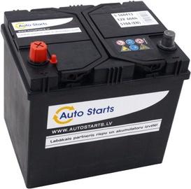 Akumulators Auto Starts, 12 V, 60 Ah, 510 A
