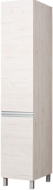 Skapis Bodzio Monia Right Door Pearl Soma Oak, 40x60x207 cm