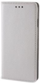 Forever Smart Magnetic Fix Book Case For LG K4 Silver