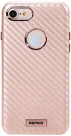 Remax Carbon Surface Desig Back Case For Apple iPhone 7 Rose Gold