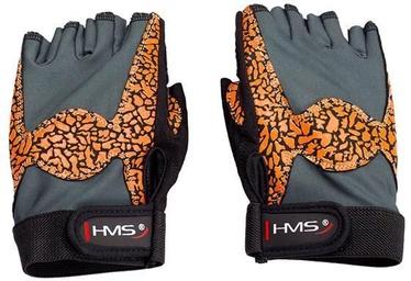 HMS RST03 Women Gym Gloves M Orange/Gray