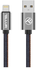 Tellur Denim USB To Apple Lightning Cable 1m