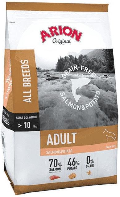 Arion Original Grain-Free Salmon & Potato 12kg