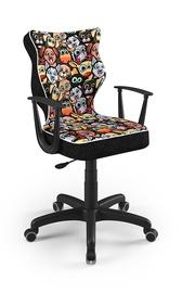 Bērnu krēsls Entelo Norm ST28, melna, 370 mm x 1010 mm