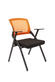 Стул для посетителей Chairman Nexx Black/Orange
