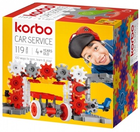 Конструктор Korbo Car Service R1401, 119 шт.